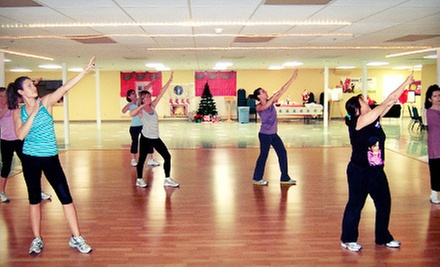 10 or 20 Women's Drop-In Fitness and Zumba Classes at Get Fit Now (Up to 61% Off)