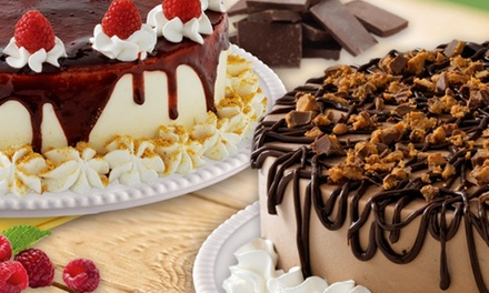 Ice Cream Cakes at Marble Slab Creamery (Up to 50% Off). Three Options Available.