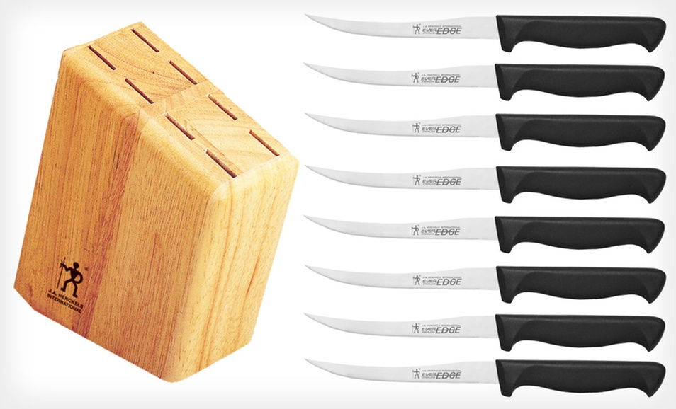8-Pc. Knife Set w/ Wood Block