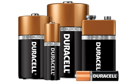 Duracell Coppertop Batteries with Duralock Technology; 8-Pack of C,D or 9V