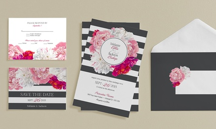 Custom Wedding Stationary from Vistaprint