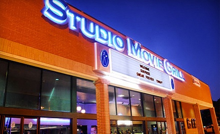 $5 for Movie Outing at Studio Movie Grill (Up to $10 Value)