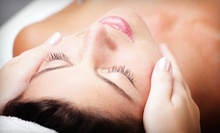 Spa Package with Facial and 60-Minute Swedish Massage or Brown-Sugar Body Scrub at All About U (Up to 61% Off)