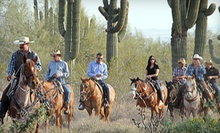 Two-Hour Horseback Trail Ride for One or Two at Macdonald Ranch (Up to 54% Off)