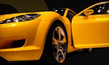 Professional Auto-Detailing Package with Optional Rain-X Treatment at Double Take Auto Detailing (Half Off)