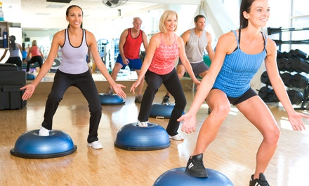 One-Month  Unlimited Fitness Package for One or Two at Results Fitness & Results Fitness for Women (Up to 89% Off)