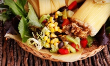Tamale or Fajita Party Platter for 10 or 20 People for Takeout from La Popular Tamale House (45% Off)