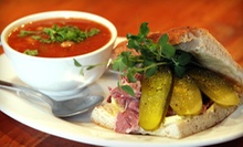 $15 for a Café Meal for Two with Soups and Sandwiches or Salads at The Hot and Cold Cafe (Up to $32 value)