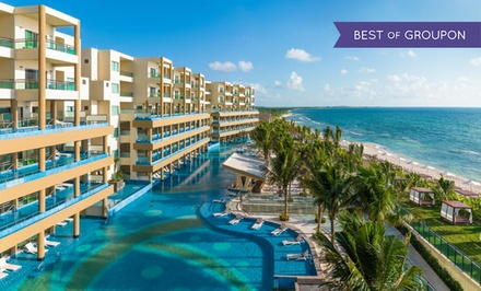 groupon daily deal - 3-, 4-, or 5-Night Gourmet-Inclusive Stay for Two at Generations Riviera Maya in Mexico. Includes Taxes and Fees.