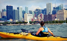 Kayak and Standup-Paddleboard Package from Manhattan Kayak (Up to 51% Off). Four Options Available.