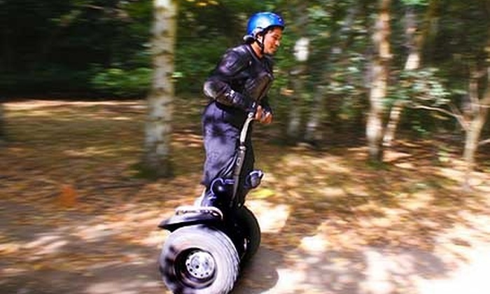 Segrally - Multiple Locations: One-Hour Off-Road Segway Experience from £16 with Segkind (Up to 60% Off)
