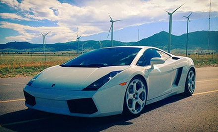 Foothills Drive in a Lamborghini Gallardo or Ferrari F430 Spider from Mile High Drives (Up to 60% Off)
