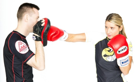 One or Three Months of Unlimited Kickboxing, MMA, or BJJ Classes at Mass BJJ (Up to 73% Off)