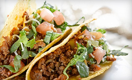 Mexican Grill Cuisine at Chili Peppers (Up to 53% Off). Two Options Available.
