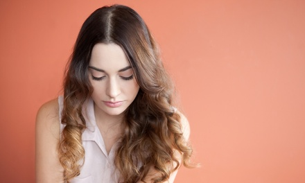 Haircut with Optional Root Touch-Up or Full Color at J E N R U HAIR (Up to 57% Off)