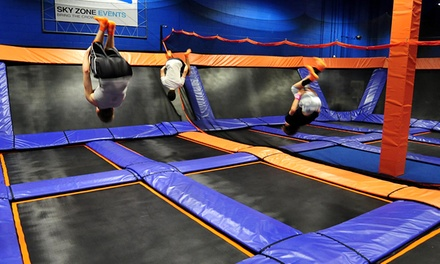 Two 60- or 90-Minute Jump Passes at Sky Zone (Up to 46% Off)