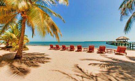 Groupon Deal: 3-, 4-, or 5-Night Stay for Two in a Cabana with Gear Rentals and Daily Continental Breakfast at Singing Sands in Belize