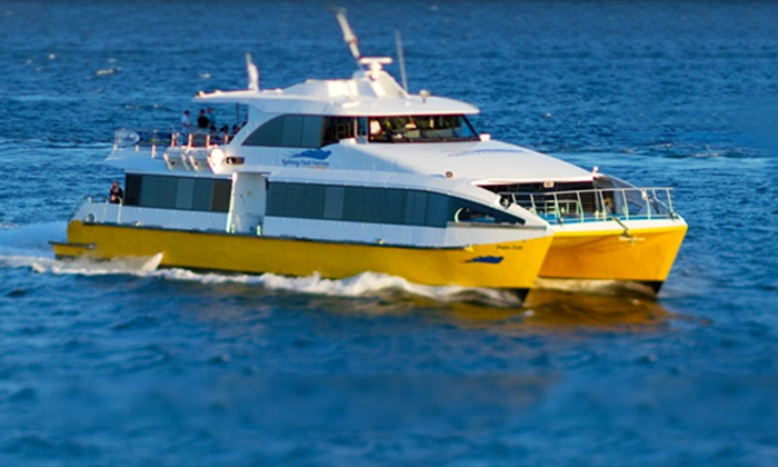 Sydney Fast Ferries - Multiple Locations: $4.75 Single Ticket for Sydney Fast Ferries Operating Between Circular Quay and Manly ($9.50 Value)
