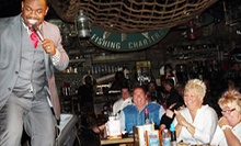 $45 for a Comedy Show and Pre-Fixe Meal for Two at Captain Brien's Seafood & Raw Bar (Up to $91.96 Value)