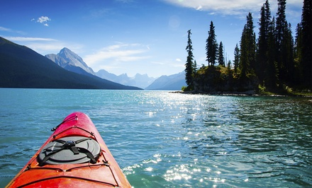 Double Kayak Rental or Stand-Up Paddleboard Rental for Two or Four Brentwood Bay Resort & Spa (Up to 54% Off)