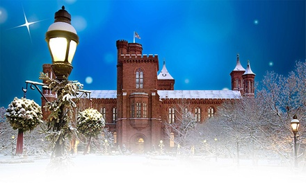 $25 for One Smithsonian Holiday Festival Entertainment Pack Pass, December 6–7 ($90 Value)