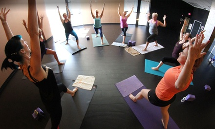 One- or Two-Month Yoga Membership with Gym Membership at City Athletic Club (Up to 86% Off)