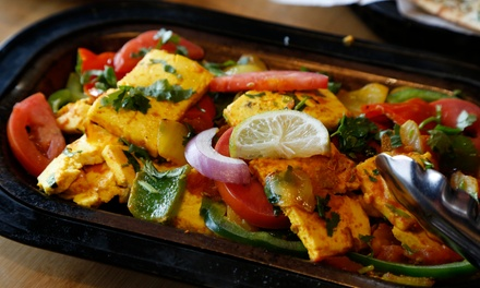 Vegetarian and Vegan Indian Food at Bombay House (Up to 38% Off). Two Options Available.