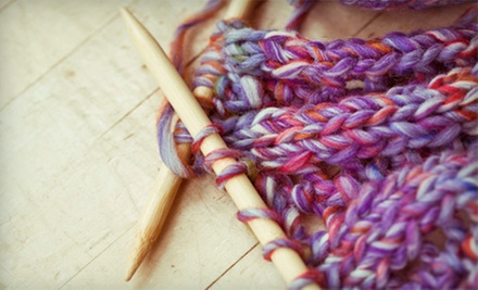 Crocheting Class for One, Two, or Up to Six with Materials from Winnies Fashion Design (Up to 79% Off)