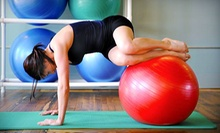 10 or 20 Pilates Mat Classes, or Two or Five Personal-Training Sessions at The Body Garage (Up to 72% Off)