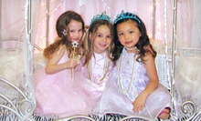 45-Minute Princess Dress-Up Tea Party for Two or Three at Chelsea's Tea Room &amp; Boutique (52% Off)
