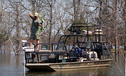 $139 for a Four-Hour Bowfishing Trip for Two with Snacks and Drinks from The Bowfisher ($440 Value)