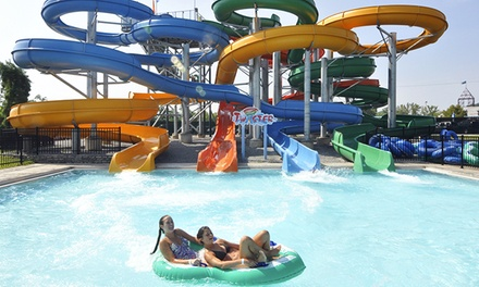 Pool and Ride Combo Tickets with Pizza for Two or Four at Coney Island (Up to 43% Off)