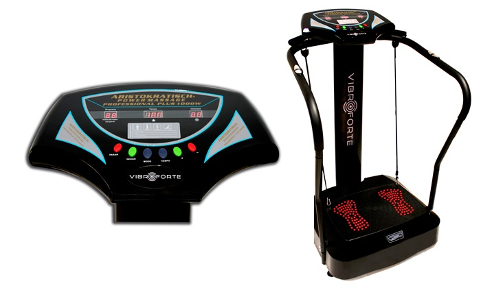 Plataforma vibratória profissional Vibroforte por 179€
