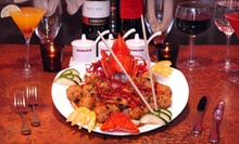 $35 for an Asian-Fusion Dinner for Two at Nanking Restaurant (Up to $75 Value)