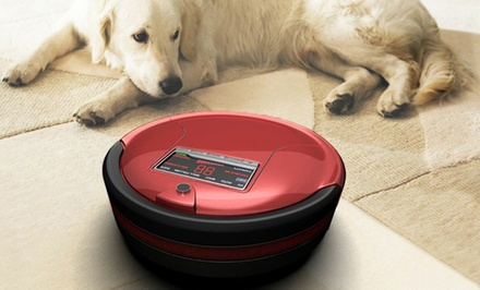 bObsweep Standard or Pet-Hair Robotic Vacuum Cleaner and Mop.