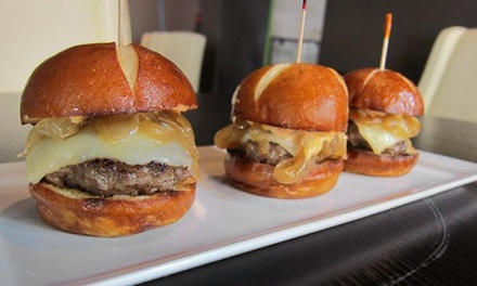 Sliders or Tacos and Beer for Two or Four at Vinyl Restaurant (50% Off)