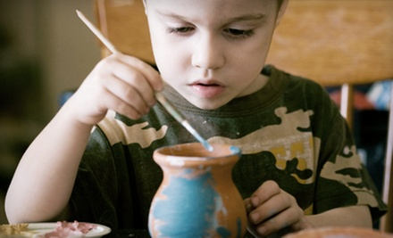 $12 for One Children's Pottery Class at Yunomi Studio & Gallery ($25 Value)