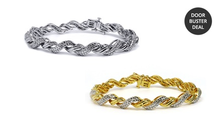 1/4 ct.tw. Diamond Bracelets. Multiple Styles Available. Free Returns.