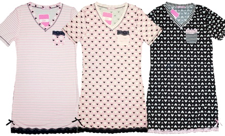 Women's Plus-Size Nightshirts