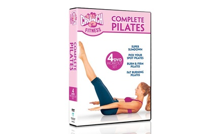 Crunch Complete Pilates 4-DVD Set