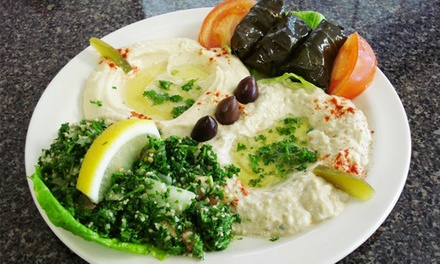 $11 for $20 Worth of Lebanese Dinner Cuisine at Prince Lebanese Grill