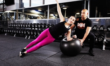 One-Month Gym Membership or One-Year Online Workout-Video Membership at Crunch (Up to 83% Off)