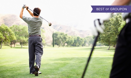 $29 for an 18-Hole Round of Golf with Cart Rental for Two at Indian Run Golf Club (Up to $64 Value)