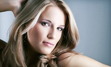 Haircut, Blow-Dry, and Style with Option for Full Color or Partial Highlights at Epitome Style Lounge (Up to 63% Off)