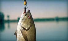 Four- or Eight-Hour Fishing Trip with Equipment for Up to Four People from Central Texas Fishing Guides (Up to 56% Off)