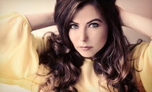Haircut and Style with Optional Partial or Full Highlights at Olivia Todd Salon & Spa (Up to 67% Off)