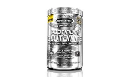 67-Serving Container of Platinum 100% Micronized Glutamine