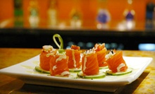Sushi Meal for Two or Four or $12 for $25 Worth of Sushi and Japanese Food at Fuji 1546 Restaurant & Bar