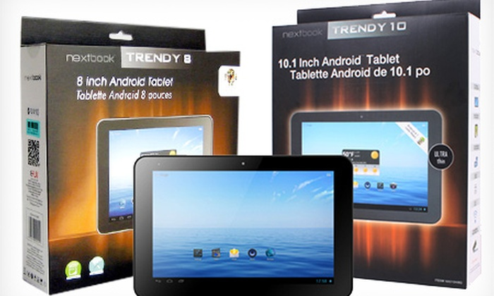 "POWERHOUSEPC AUSTRALIA PTY LTD: Nextbook Tablets - 8"" Dual Core ($149) or 10.1"" Quad Core Android 4.2 Tablet PC ($249), Includes Nationwide Delivery"