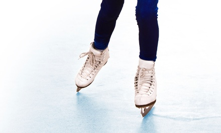 Ice-Skating with Skate Rentals for Two, Four, or Ten at Portland Ice Arena (Up to 57% Off)